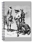 Fr 043 Third Cavalry Trooper Searching A Suspected Revolutionist Fredericremington Sqs Frederick Remington Spiral Notebook