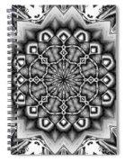 Fractal 12 Spiral Notebook