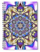 Fractal 5 Spiral Notebook