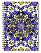 Fractal 9 Spiral Notebook