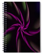 Fractal Abstract 070110 Spiral Notebook