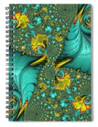 Fractal Art - Gifts From The Sea By H H Photography Of Florida Spiral Notebook