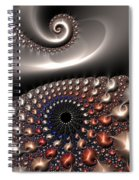 Fractal Contact Spiral Notebook