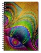 Fractal Design -a5- Spiral Notebook