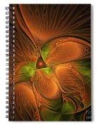 Fractal Design  -d- Spiral Notebook