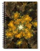 Fractal Floral 02-12-10 Spiral Notebook
