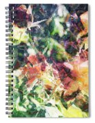 Fractal Flowers Spiral Notebook