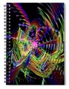 Fractal Folly Spiral Notebook