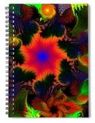 Fractal Garden 15 Spiral Notebook