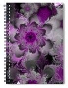 Fractal Garden 4 Spiral Notebook