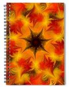 Fractal Garden 6 Spiral Notebook