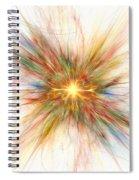 Fractal Genesis Spiral Notebook