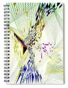 Fractal II Spiral Notebook