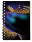 Fractal Of The Day Se02 Ep02 Wings Spiral Notebook