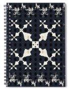Fractal Patterns Spiral Notebook