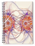 Fractal Synapse Spiral Notebook