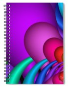 Fractalized Colors -1- Spiral Notebook