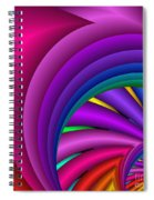 Fractalized Colors -3- Spiral Notebook