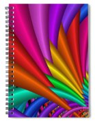 Fractalized Colors -7- Spiral Notebook
