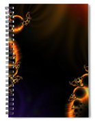 Fractalscape I Spiral Notebook