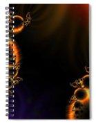 Fractalscape I Spiral Notebook