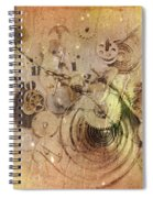 Fragmented Time Spiral Notebook