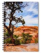 Framed Arch Spiral Notebook