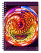 Framed Glass Spiral Spiral Notebook