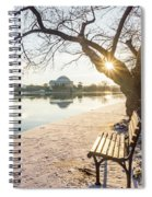 Framed Jefferson Spiral Notebook
