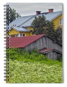 Framehouses In Finland Spiral Notebook