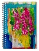 Framing Petals Spiral Notebook