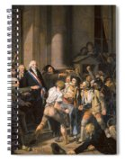 France: Bread Riot, 1793 Spiral Notebook