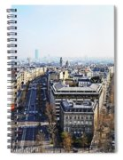 France Montmartre Paris Spiral Notebook