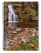 France Park Falls Spiral Notebook