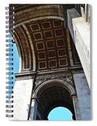 France Triumph Monument Spiral Notebook