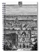France, View Of Lyon, C1894 - To License For Professional Use Visit Granger.com Spiral Notebook
