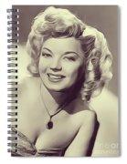 Frances Langford, Vintage Actress Spiral Notebook