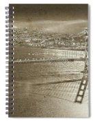Francisco Sky Line Vintage  Spiral Notebook