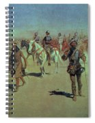 Francisco Vasquez De Coronado Making His Way Across New Mexico Spiral Notebook
