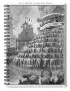 Franco-british Exhibition Spiral Notebook