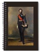 Francois-ferdinand-philippe Dorleans Prince De Joinville Franz Xavier Winterhalter Spiral Notebook