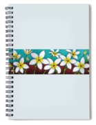 Frangipani Delight Spiral Notebook