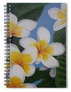 Frangipani II Spiral Notebook