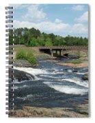 Frank J Russel Falls 1 Spiral Notebook