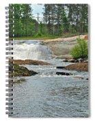 Frank J Russel Falls 2 Spiral Notebook