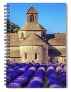 All Purple, Cistercian Abbey Of Notre Dame Of Senanque, France  Spiral Notebook
