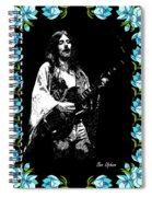 Frank Marino Of Mahogany Rush 4-14-78 Spiral Notebook