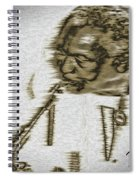 Frank Morgan Spiral Notebook