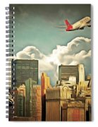 Frank Sinatra Fly Me To The Moon New York 20170506 V3 Spiral Notebook