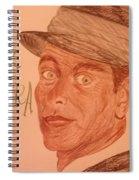 Frank Sinatra - The Voice Spiral Notebook